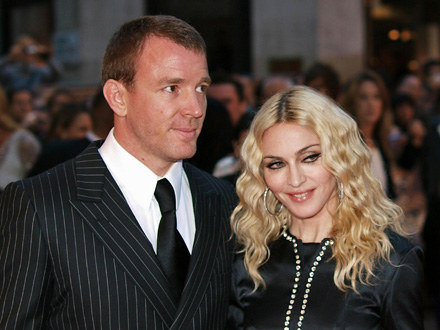 Guy Ritchie i Madonna /arch. AFP