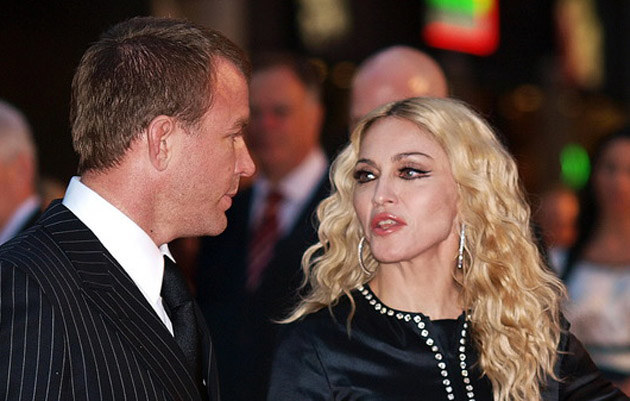 Guy Ritchie, Madonna  /AFP