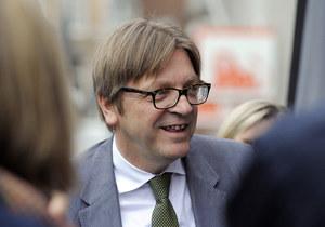 Guy Verhofstadt: Unia znalazła się na rozdrożu. Polska ma kluczowe znaczenie
