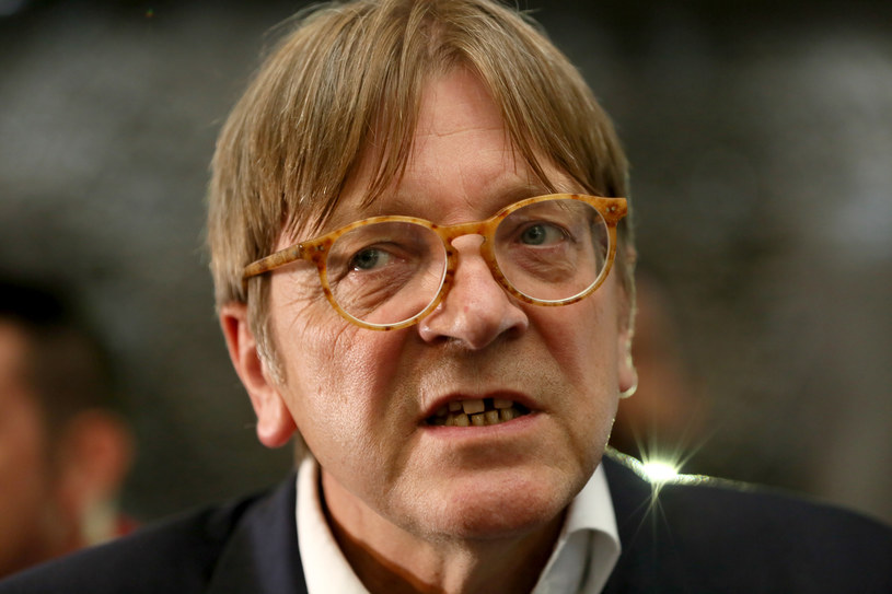 Guy Verhofstadt /PAUL FAITH    /AFP