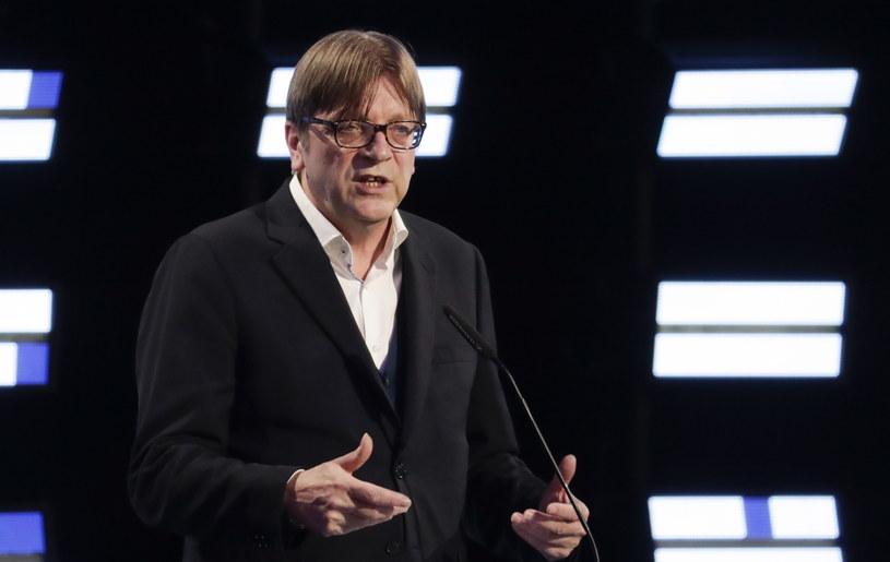 Guy Verhofstadt /OLIVIER HOSLET /PAP/EPA