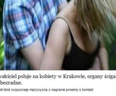 """""""Gwałciciel poluje na kobiety w Krakowie"""" - uwaga na facebookowe oszustwo"""
