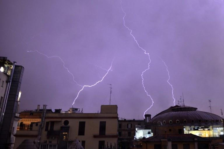 Gwałtowna burza /AFP