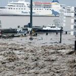 Gwałtowna nawałnica na Maderze. Największe zniszczenia w portach