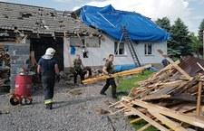 Gwałtowne burze nad Polską. Strażacy wyjeżdżali ponad 300 razy, jedna osoba ranna