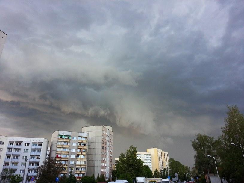 Gwałtowne burze nad Polską (zdj. ilustracyjne) /Tomasz Kawka /East News