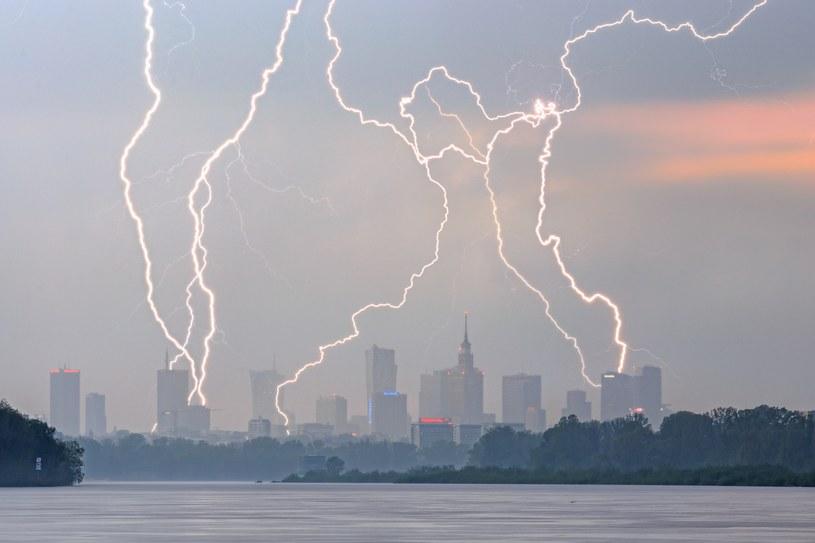 Gwałtowne burze nad Polską /Kuba Jurkowski /East News