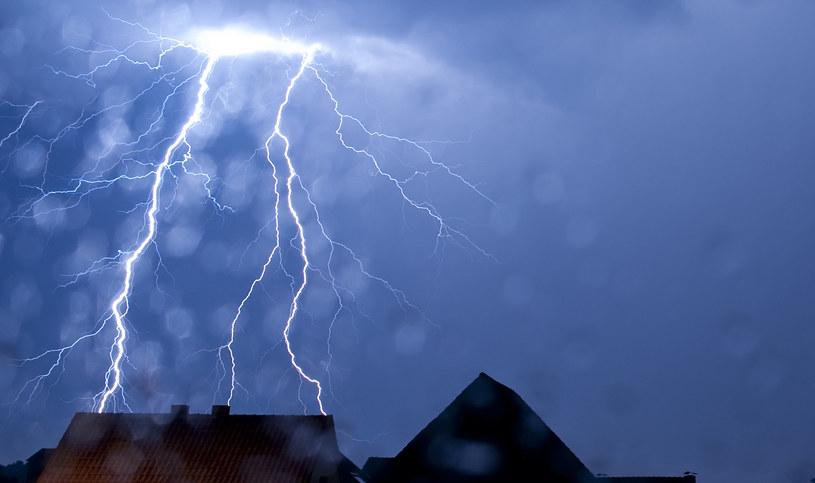 Gwałtowne burze przeszły nad Niemcami /AFP