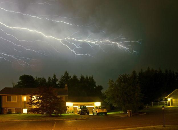 Gwałtowne burze przeszły przez Polskę /123RF/PICSEL