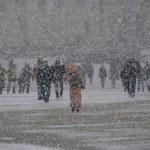Gwałtowne załamanie pogody. Ostrzeżenie przed zawiejami i zamieciami śnieżnymi