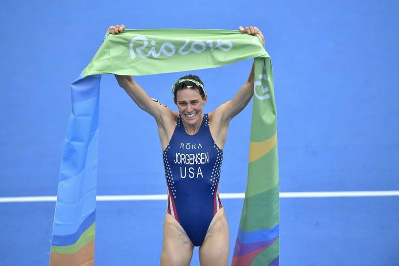 Gwen Jorgensen została mistrzynią olimpijską w triathlonie /PAP/EPA