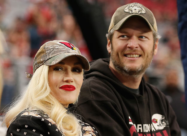 Gwen Stefani i Blake Shelton /Christian Petersen /Getty Images