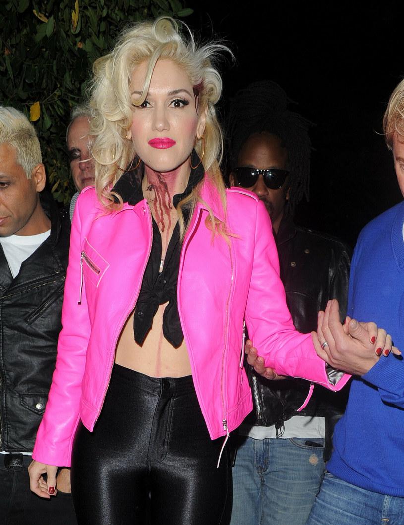 Gwen Stefani podczas Halloween Party /Gotcha Images / Splash News /East News