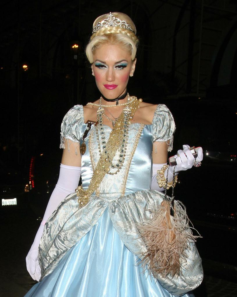 Gwen Stefani podczas imprezy na święto Halloween /MAB/Splash News /East News