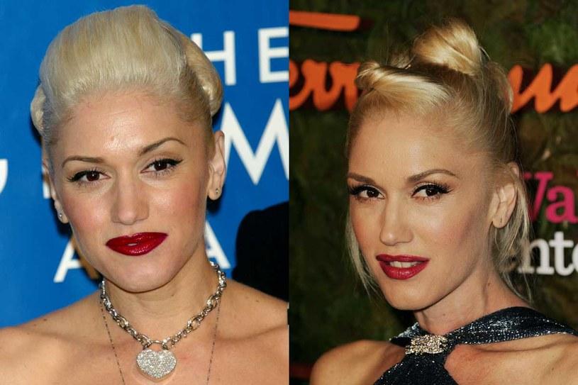 Gwen Stefani - rok 2003 i 2013 /Getty Images