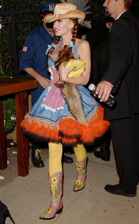 Gwen Stefani w przebraniu kowbojki /Milton Ventura/Broadimage /East News