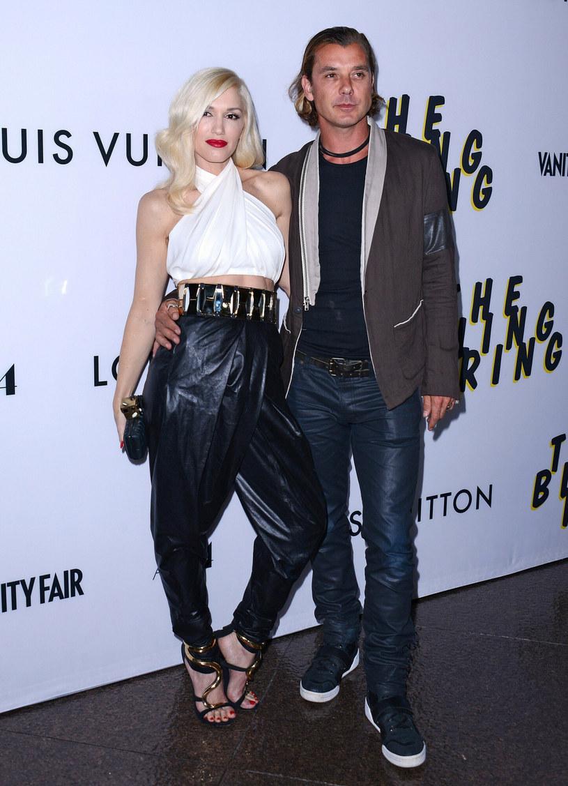 Gwen Stefani z byłym mężem Gavinem Rossdale /Luiz Martinez / Broadimage /East News
