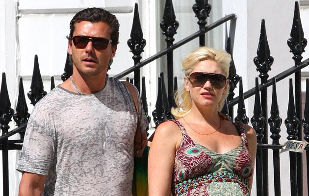 Gwen Stefani z mężem, Gavinem Rossdale  /Splashnews