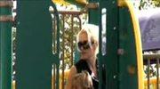Gwen Stefani z mężem i synkiem