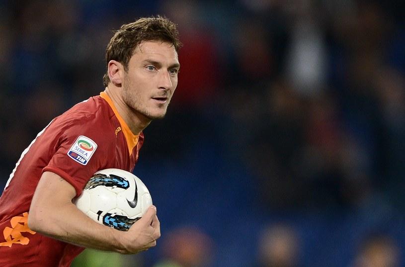 Gwiazdą AS Roma jest Francesco Totti /AFP