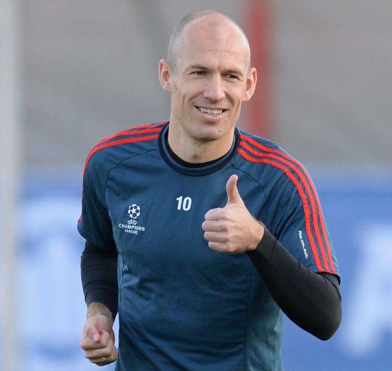 Gwiazda Bayernu Monachium Arjen Robben /AFP