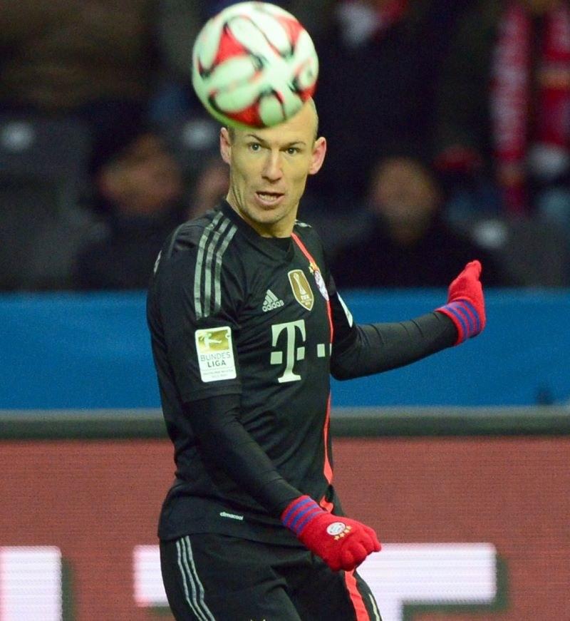 Gwiazda Bayernu Monachium i reprezentacji Holandii Arjen Robben /AFP