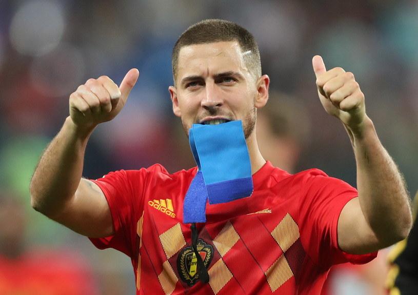 Gwiazda Belgii Eden Hazard po porażce z Francją /PAP/EPA