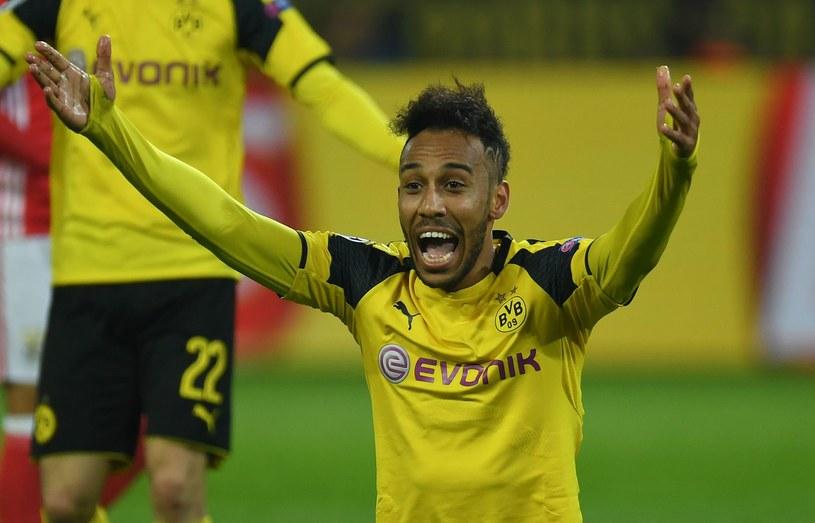 Gwiazda Borussii Dortmund Pierre-Emerick Aubameyang /AFP