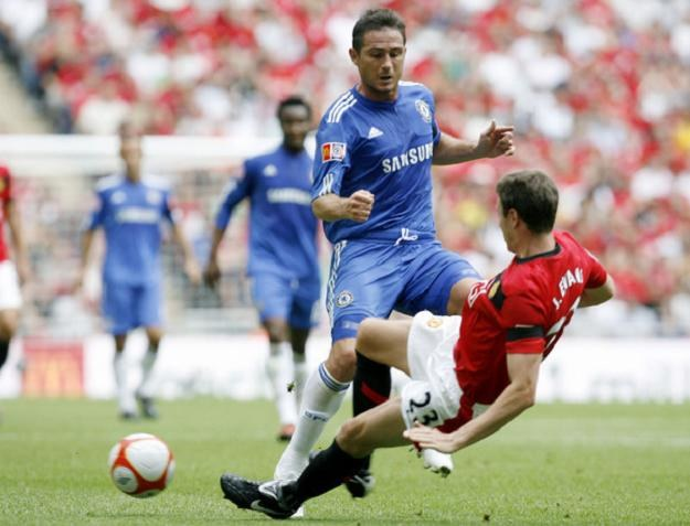 Gwiazda Chelsea Frank Lampard /AFP