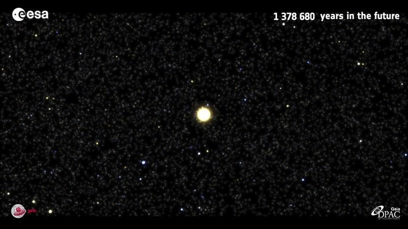 Gwiazda Gliese 710 zbliży się do nas za 1,3 mln lat /materiały prasowe