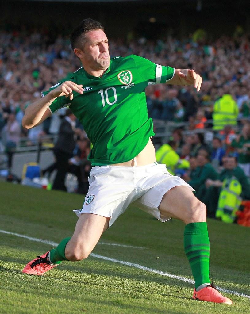 Gwiazda Irlandii - Robbie Keane /AFP