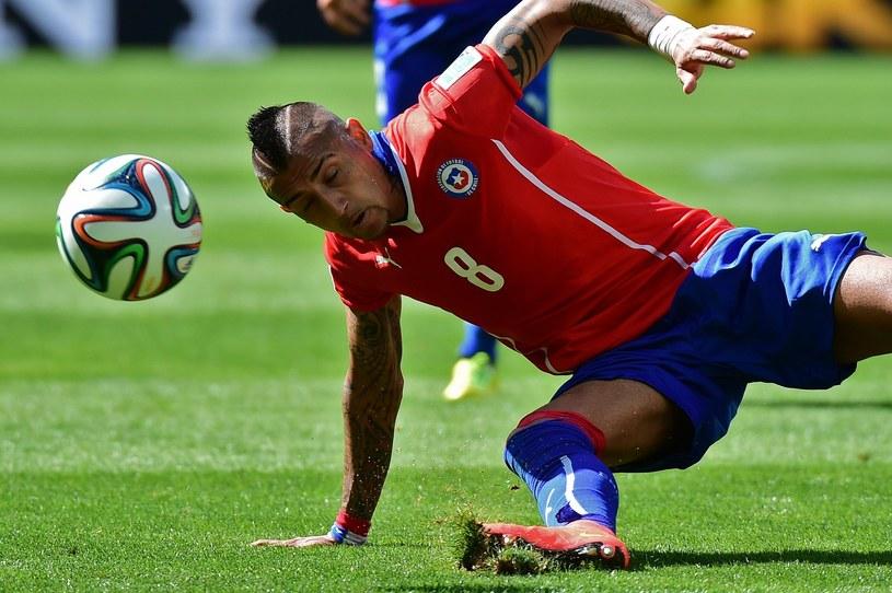 Gwiazda Juventusu Turyn Arturo Vidal /AFP