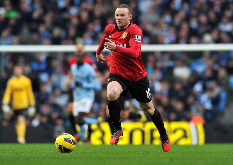 Gwiazda Manchesteru United Wayne Rooney /AFP