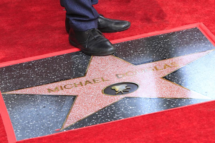Gwiazda Michaela Douglasa /NINA PROMMER    /PAP/EPA