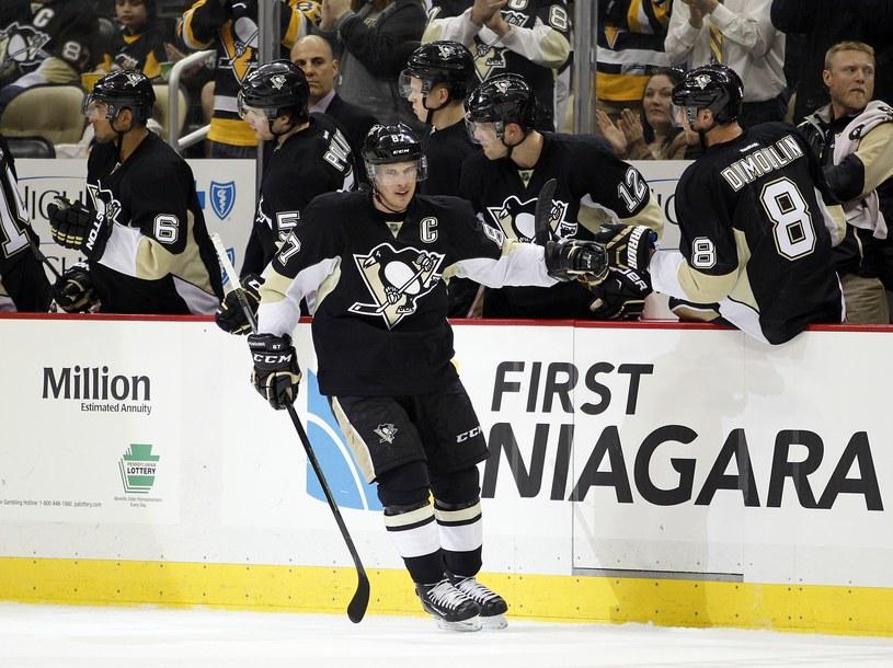 Gwiazda Pittsburgh Penguins Sidney Crosby /AFP
