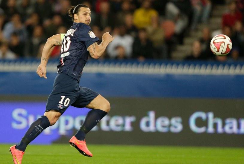 Gwiazda PSG i reprezentacji Szwecji Zlatan Ibrahimović /AFP