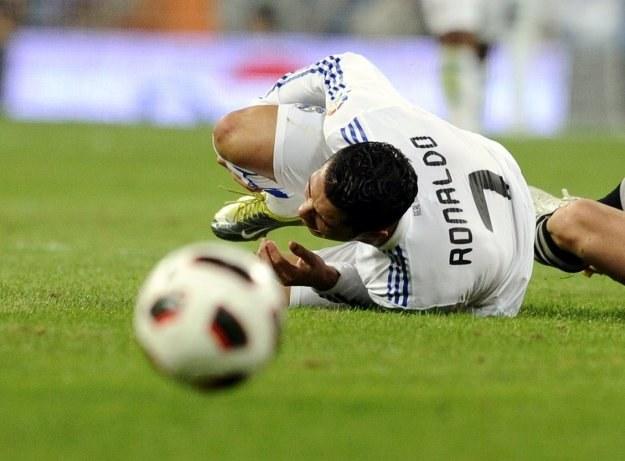 Gwiazda Realu Madryt, Cristiano Ronaldo /AFP