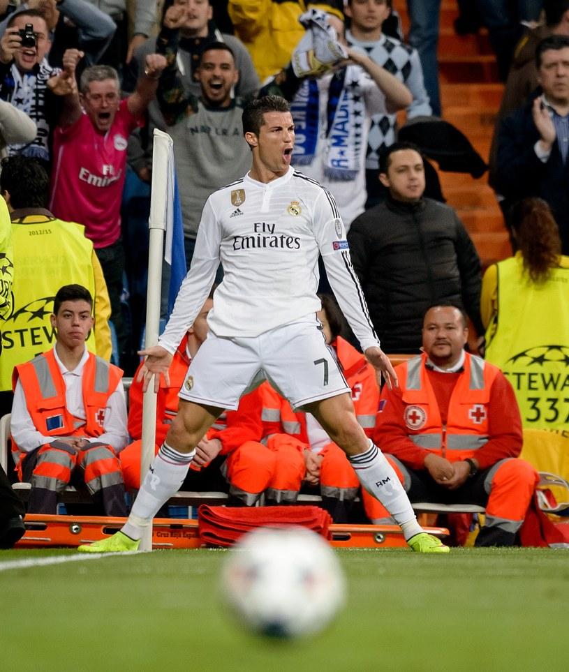 Gwiazda Realu Madryt Cristiano Ronaldo /AFP