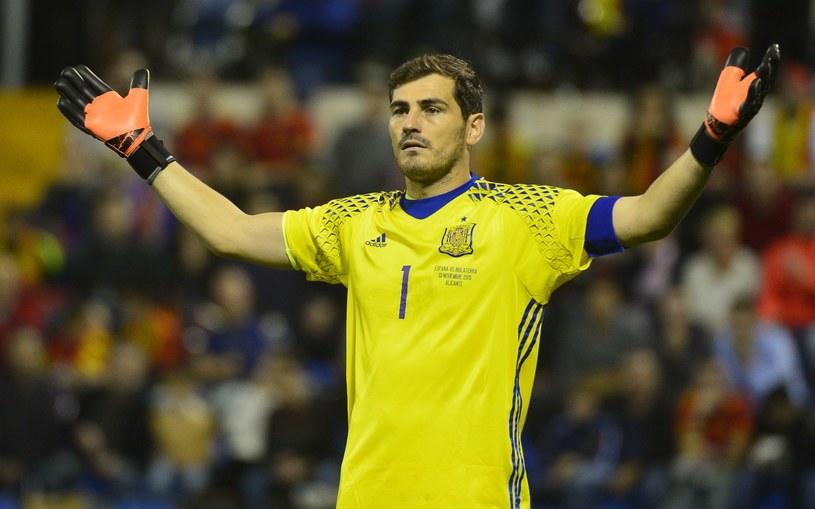 Gwiazda reprezentacji Hiszpanii Iker Casillas /AFP
