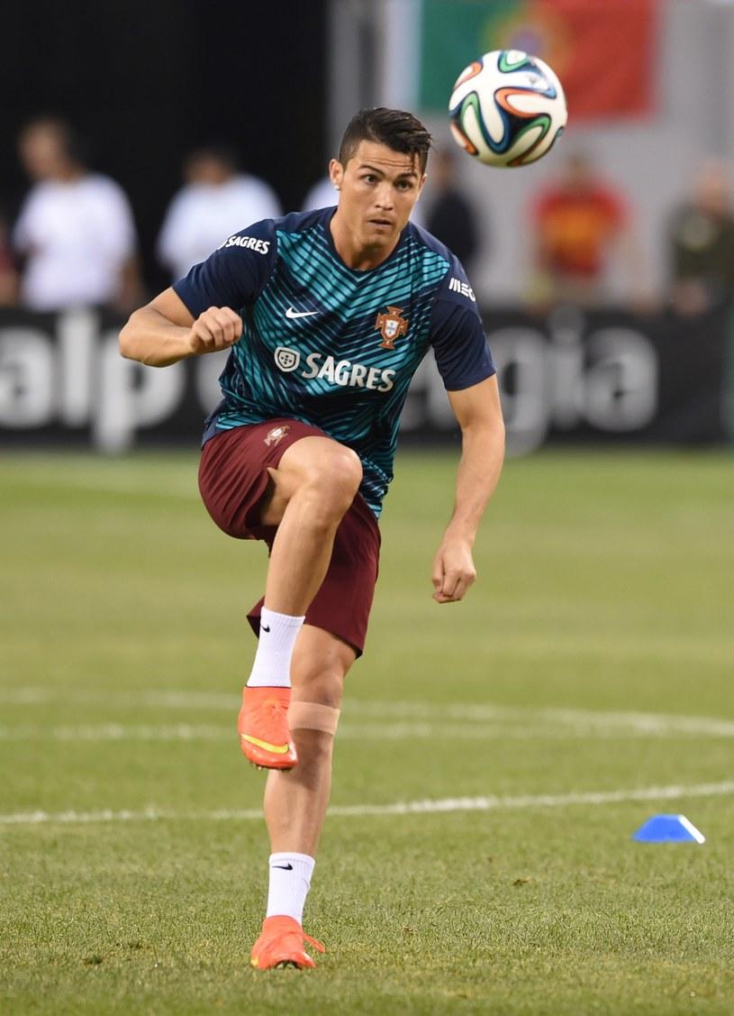 Gwiazda reprezentacji Portugalii - Cristiano Ronaldo /AFP