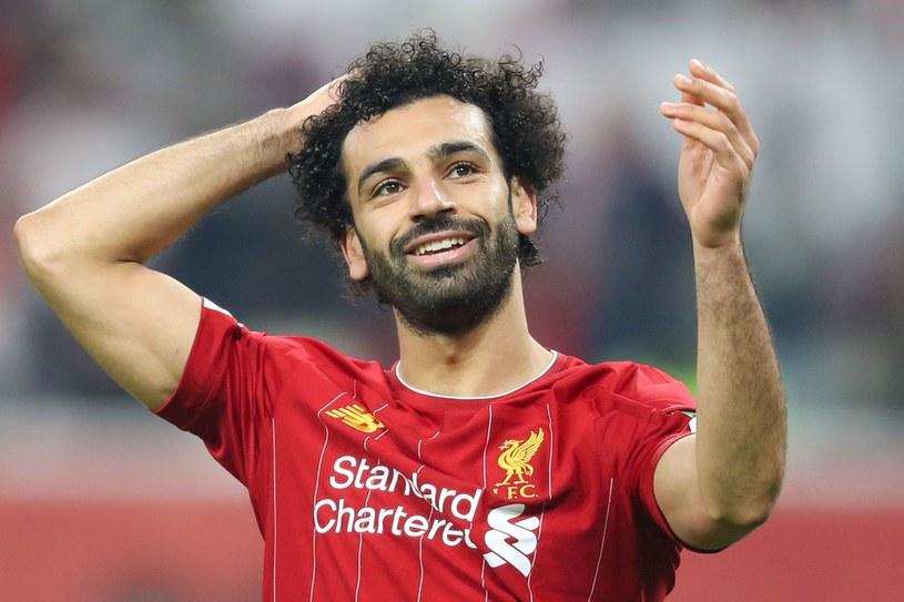 Gwiazdor Liverpoolu Mohamed Salah /AFP