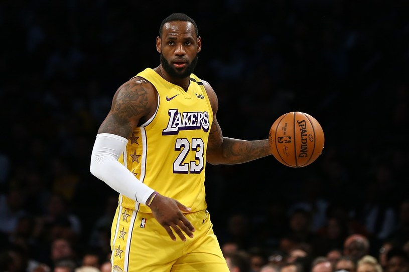 Gwiazdor NBA LeBron James /AFP