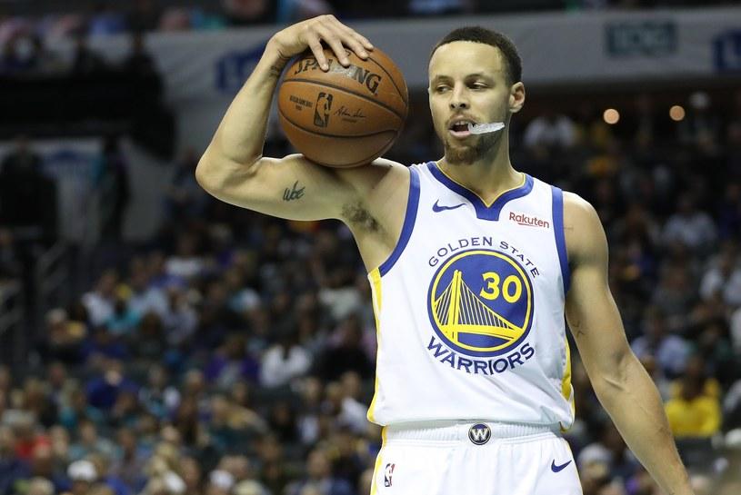 Gwiazdor NBA Stephen Curry /AFP