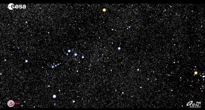 Gwiazdozbiór Oriona /materiały prasowe