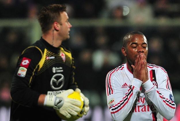 Gwiazdy AC Milan były bezradne wobec fantastycznych interwencji Artura Boruca /AFP
