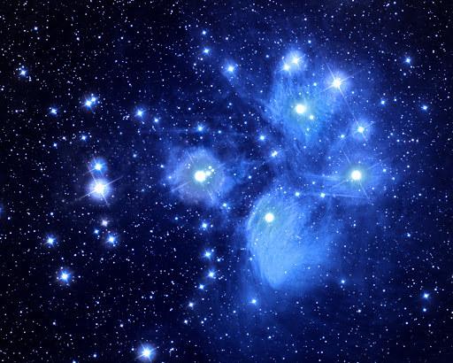 Gwiazdy Delta Scuti w Plejadach (gromadzie M45) /materiały prasowe