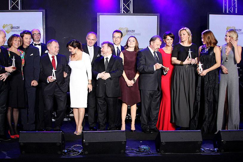 Gwiazdy Dobroczynności w 2013 roku /MWMedia