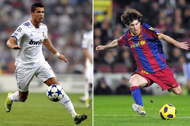 Gwiazdy dzisiejszego futbolu - Cristiano Ronaldo (z lewej) i Lionel Messi /AFP