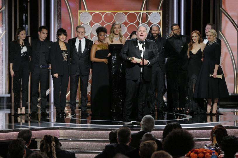 """Gwiazdy podczas rozdania """"Złotych Globów"""" /Handout /Getty Images"""