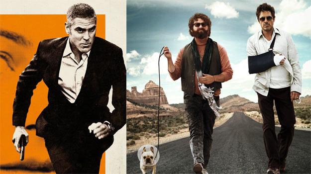 """Gwiazdy tygodnia: George Clooney (""""Amerykanin"""") i Robert Downey Jr (""""Zanim odejdą wody"""") /materiały dystrybutora"""